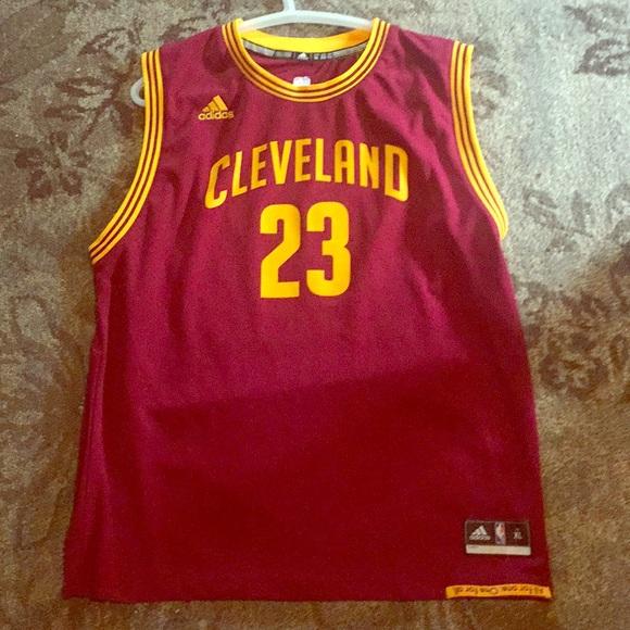 brand new fd0ee 6fddb Lebron James adidas signature Cleveland jersey!